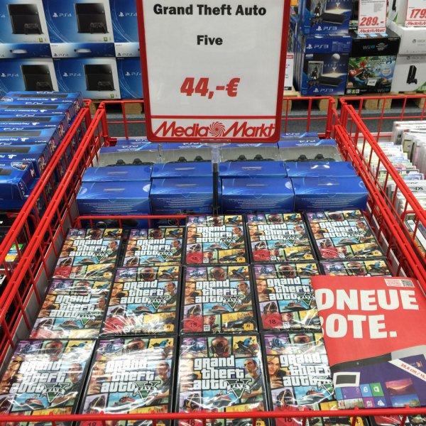 GTA V (PC) @ Media Markt (Lokal?)