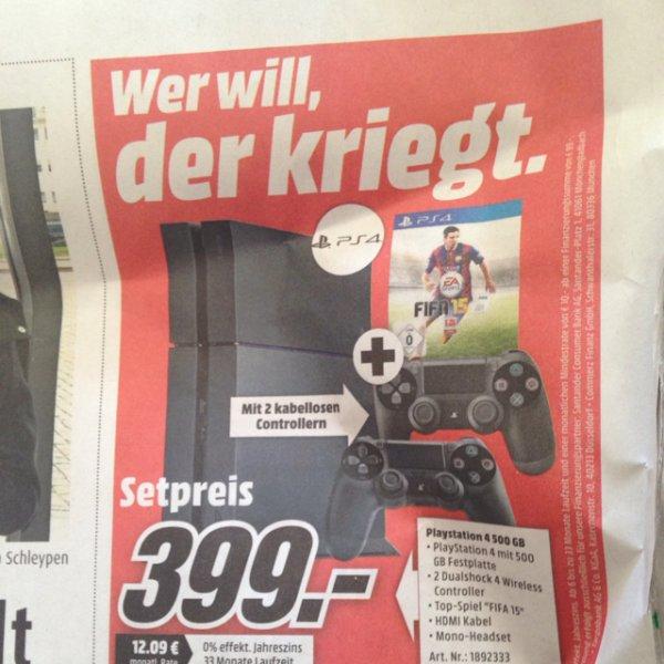 PlayStation 4 Set [Lokal MG]