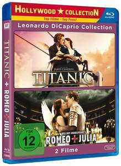 [Media-Dealer] Titanic + Romeo und Julia (Bluray - 2 Discs) für 11€