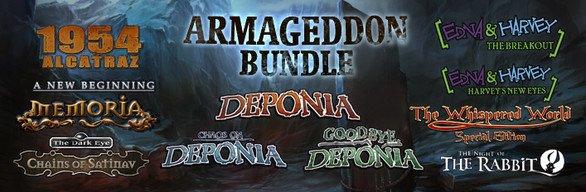 [Steam] The Daedalic Armageddon Bundle, 15,99€ (-90%)