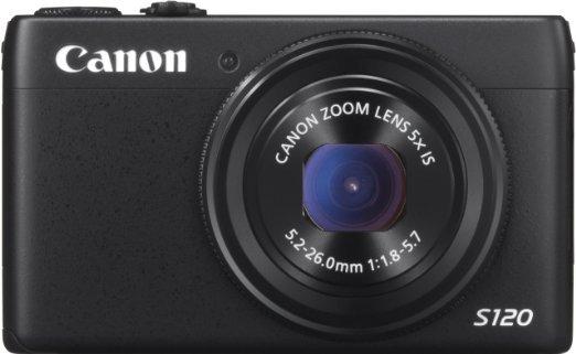 Canon PowerShot S120 schwarz für 254€ [Cyberport, LOKAL]
