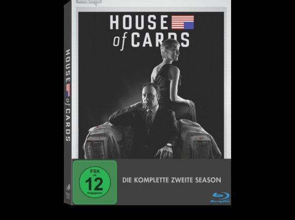 (Amazon.de) House of Cards - Staffel 2 auf Blu-Ray für 19,99 + 3€ VSK