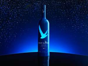 Grey Goose Wodka Limited Edition Night Vision (1 x 1.75 l) - @Amazon Blitzangebot