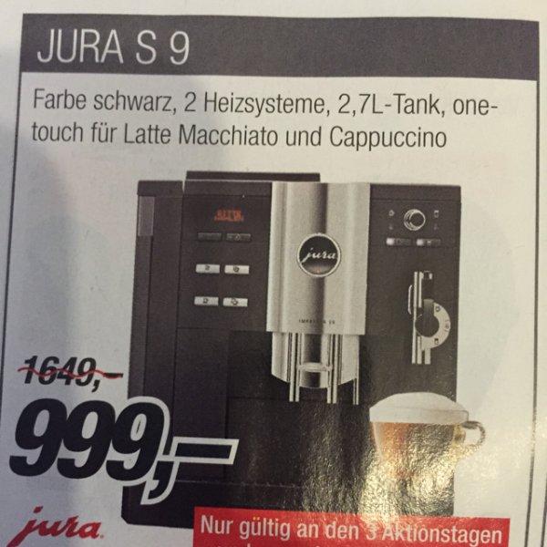 (Lokal 74343) Jura S9 999,- statt 1299,-