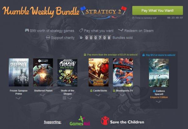 [Humble Weekly Bundle] Strategy 2