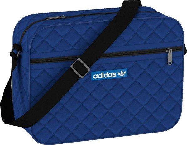 [Amazon Prime] adidas Umhängetasche Airliner Nylon, blau