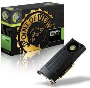 Point of view Geforce 970 3,5 GB für 282 € bei Notebooksbilliger