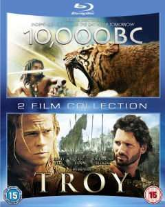 Troja + 10.000 BC + Enter the Dragon + Ninja Assassin (Blu-ray) für 13,50€ @Zavvi.de