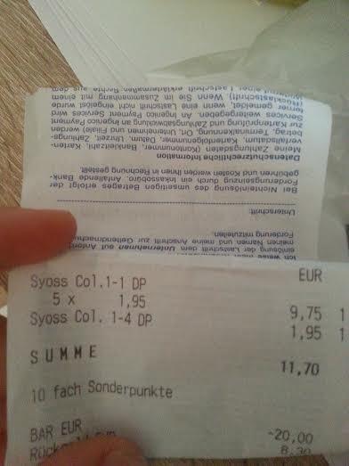 (lokal Wiesbaden) SYOSS Multipackung