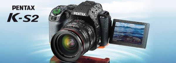 Pentax K-S2 DSLR in schwarz ohne Objektiv  für 631,19 €
