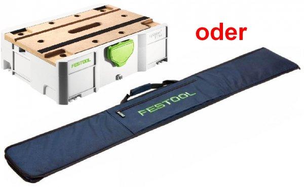 Festool Werkbank-Systainer SYS-MFT oder Führungsschienentasche FS-BAG