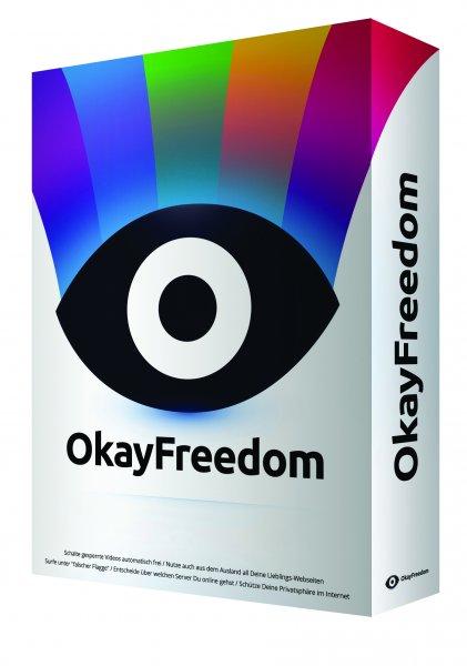 12 Monate OkayFreedom VPN Premium für Windows (mit unbegrenztem Datenvolumen) statt 29,95€