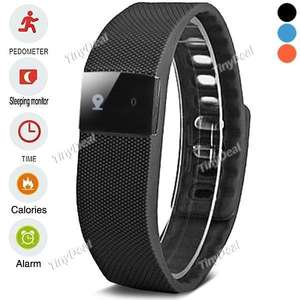 (CN) TW64 Smart Fitness Wristband Bluetooth 4.0 IP67 11,50 Eur incl. Versand