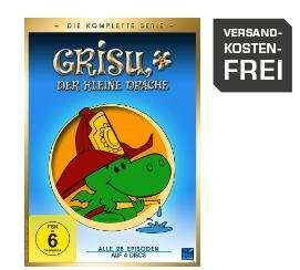 Grisu der kleine Drache (Gesamtbox) - (DVD) für 12,99€ inkl. Versand @Saturn.de