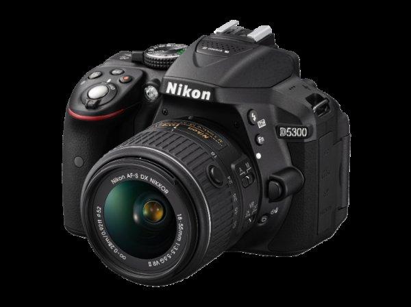 NIKON D5300+18-55mm VR II schwarz für 499,00 Euro versandkostenfrei, @MediaMarkt.de