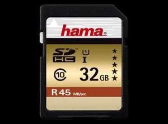 MediaMarkt online, Hama SDHC 32GB Class 10 UHS-I 45MB/s, 10€, Idealo 18,55€