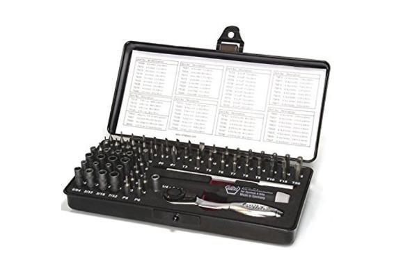 [Dealclub] Wiha Micro Bit Box 7000-SK65 ESD 65tlg.Ideal für Modellbau, Elektronik, Feinmechanik für 99,-€ Versandkostenfrei