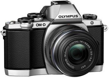 [Amazon.it] Olympus OM-D E-M10 Kit 14-42 mm II R silber/schwarz (nur mit Kreditkarte)