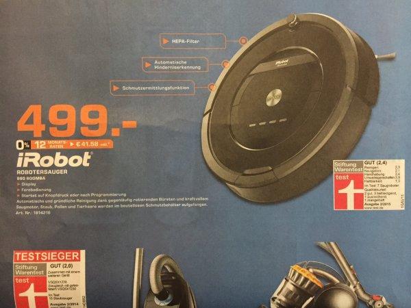 [LOKAL] Saturn Bremen Papenstraße - iRobot Robotersauger 880 Roomba