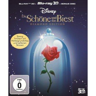 Die Schöne und das Biest Diamond Edition (BluRay3D)