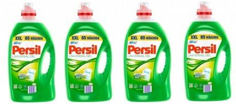 [Rakuten] Persil Universal Gel Flüssigwaschmittel 4x65 WL 49,99 € + Superpunkte