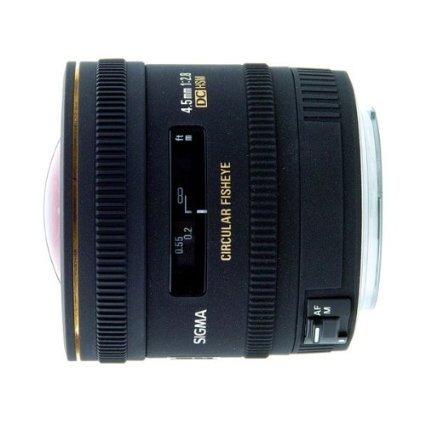 Sigma 4,5 mm F2,8 EX DC HSM Zirkular Fisheye-Objektiv (Pentax) für 411,63 € @Amazon.co.uk