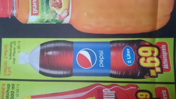 2 Liter Pepsi/Pepsi light 0,69€ Netto ohne Hund in Völklingen
