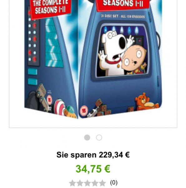 Family Guy Seasons 1-11 (Zavvi) (DVD)