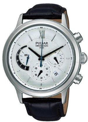 [Amazon/Marketplace] Pulsar by Seiko PU6005X1 Herren Edelstahl Chronograph mit Lederarmband für 77,33€ incl.Versand! (ohne Gutschein!)