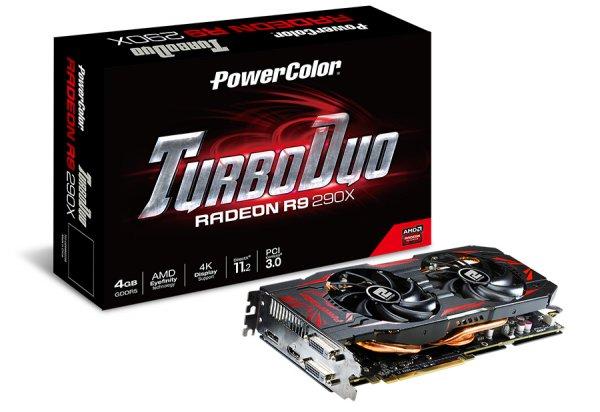 4096MB PowerColor Radeon R9 290X TurboDuo Aktiv für 292€ inkl.Versand