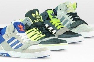 adidas Unisex Sneaker Hi Hardcout Defender oder Hi Hard Court Relevator für 39,95€ (56% sparen) 39,45 €