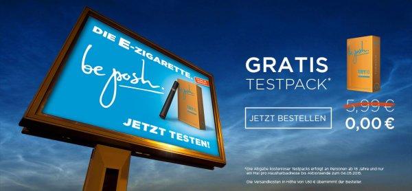 Beposh.net - Einwegzigarette für Umme an Neukunden - nur Versandkosten von 1,80 Euro