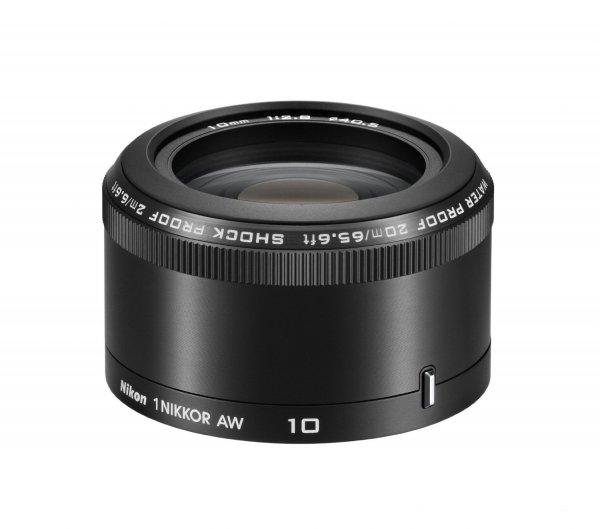 Nikon 1 NIKKOR AW 10mm 1:2.8 Objektiv für 140,27 € @Amazon