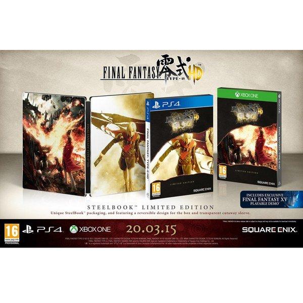 (UK) Final Fantasy Type-0 HD - Limited Edition Steelbook [PS4/XBOXOne] für 41.69 @ Zavvi