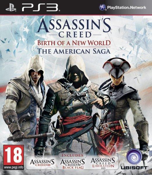 Assassin's Creed: Die Amerikanische Saga - ab 16,51€ für PC (PS3 18,94€ / Xbox 360 31,50€) [AC III, IV & Liberation HD!]