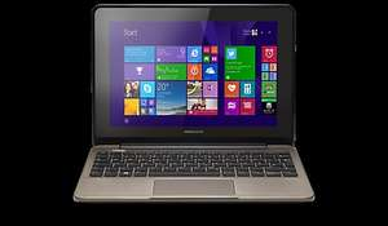 Netbook 10,1 Zoll Touchscreen, 4GB RAM, 500GB HD, USB 3.0,1,58Ghz DualCore Celeron CPU, Win. 8.1 - MEDION AKOYA E1232T (B-WARE) 179,- € inkl. Versand