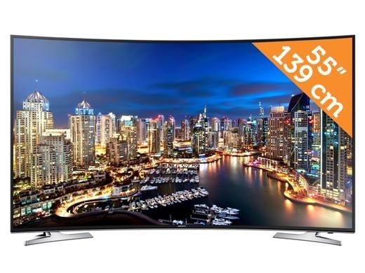 Samsung 55-Zoll-Curved 4K UHD TV bei IBOOD