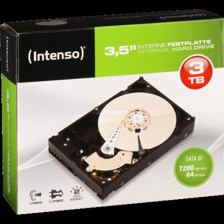 """[ZackZack] Intenso Festplatte 3TB, 3,5"""", SATA 600 """"Retail Kit"""" für 85€"""