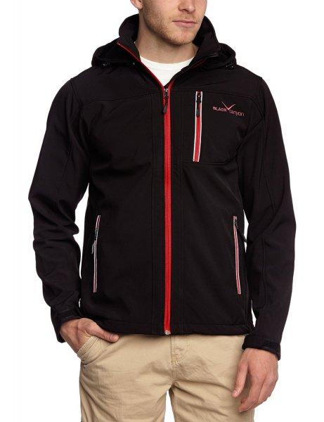 [Blitzangebot] Black Canyon Herren 3-Lagen Softshell Jacke mit Kapuze (Größen S-XXL) in versch. Farben für 39,99€ @Amazon