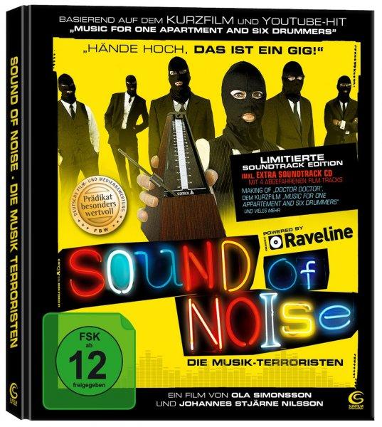 Sound of Noise (Limitierte Soundtrack Edition) [Blu-ray] für 11,97 € > [amazon.de] (Prime)