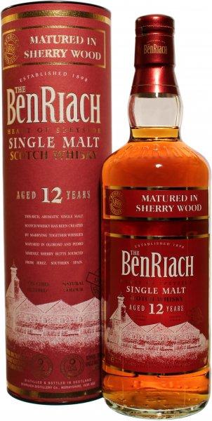 Benriach Sherryfass 12 Jahre @Whiskyzone für nur 38,85€ (inklusive Versand)