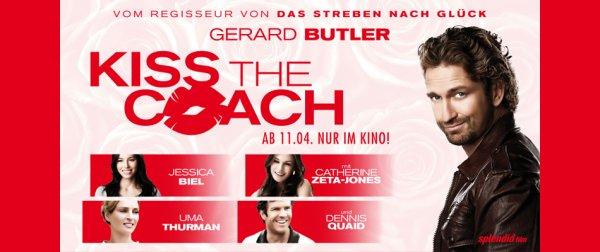 """FILM """" Kiss the Coach"""" mit Gerard Butler GRATIS zum Download bei Videociety"""