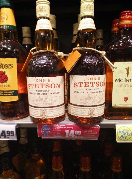Bourbon Whiskeys bei HIT (vielleicht lokal FFM)