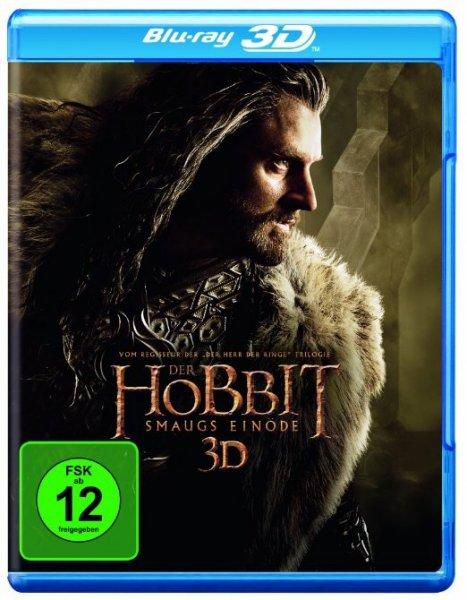 Der Hobbit: Eine unerwartete Reise & Smaugs Einöde Blu Ray 3D + 2D für je 14,97€ @Amazon.de