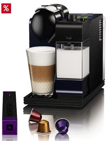 De'Longhi Nespresso Lattissima+ EN 520 BL inkl. 200 Nespresso-Kapseln für 184,95 € @Otto