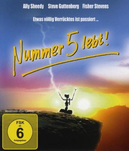 Nummer 5 lebt! Blu-ray für 6,99€ bei Amazon Prime