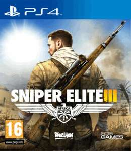 Sony PS4 - Sniper Elite 3 ab €23,45 [@Zavvi.de]