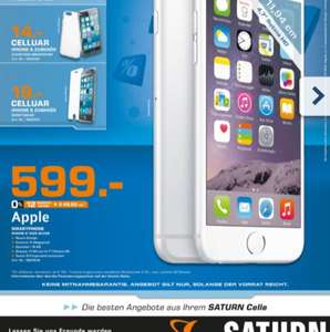 Apple iPhone 6 16GB alle Farben 599€ Lokal