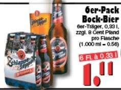 [Jawoll] Six-Pack Schlappeseppel Bockbier 6x0,33l 1,11€ + 48ct Pfand (56ct/Liter!!!)