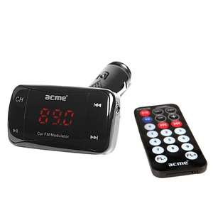 [NBB] ACME F100-01 - Auto FM Transmitter (SD-Slot, USB, Line-In) für 12,89€ + 100 Paybackpunkte